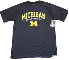 Michigan Wolverines T Shirt Mens Size L