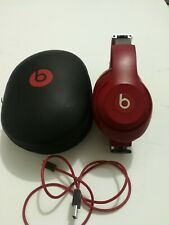 Beats by Dr. Dre Studio3 Wireless Over‑Ear Headphones - Red