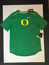 Nike Oregon Ducks Men's Player Top T-Shirt Green Heather Size L