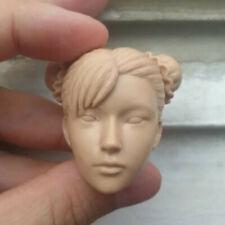 """1//6 Escala Escultura de cabeza en blanco el Salvador Liam Neeson sin pintar Fit 12/"""" figura"""