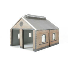 BACHMANN 44-0001 TWO ROAD BRICK ENGINE SHED