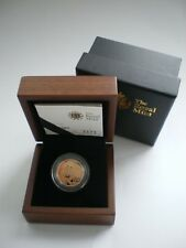 Royal Mint 2012 Great Britain Gold Proof Full Sovereign Coin with Box / Coa