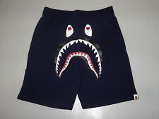 17151 bape shark sweat shorts pocket camo navy XXL