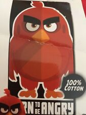 "Angry Birds ""Born To Be Angry"" Beach Towel 28"" x 58"""