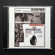 Rare Jerry Goldsmith Si Zentner WARNING SHOT soundtrack CD From Russia with Love