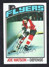 Joe Watson #45 signed autograph auto 1976-77 Topps Hockey Trading Card