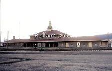 BURLINGTON NORTHERN BN Station at Helena, Montana 4/72 ORIG KODACHROME PC0230