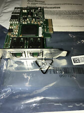 Dell BROADCOM 5709 H914R 0H914R Gigabit Ethernet DUAL PORT ADAPTER CARD WARRANTY