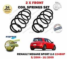 FOR RENAULT MEGANE SPORT 2.0 224BHP 5/2004-10/2009 2 X FRONT COIL SPRINGS SET