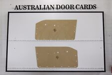 Chrysler VC Valiant Ute Door Cards. Blank Trim Panels. VC Wayfarer Utility