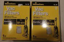 Genuine Sears 2 x HomeCare Hepa Vac Filters Eureka 430 series Dcf-10/14 No. 95
