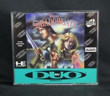 Beyond Shadowgate TurboGrafx 16 CD Turbo Duo Complete w/Poster - Mint!