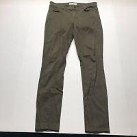 Madewell Dark Olive Green Skinny Skinny Pants Size 27 a727
