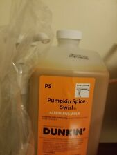 New listing Dunkin Donuts Pumpkin Spice Swirl With Pump exp may 14th free shipping