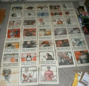 Saturday Evening Post 1905 33 Issue Lot