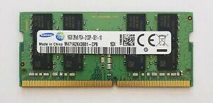 Samsung 16gb ddr4 2133mhz Laptop RAM ~~ pc4-17000 pc4-2133p SODIMM Memory 260pin