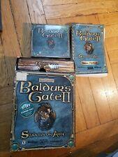 Baldur's Gate II: Shadows of Amn (PC, 2000) with Game Manual and Original box