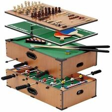 Delux 5 in 1 Table Game Set Pool Snooker Football Tennis Chess Family Fun Games