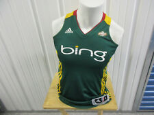VINTAGE ADIDAS WBNA AUTHENTIC SEATTLE STORM SMALL CLIMA-COOL WOMEN'S JERSEY