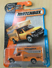 Matchbox New Toy Model Truck MBX Moving Van Metallic Orange Removal Movers