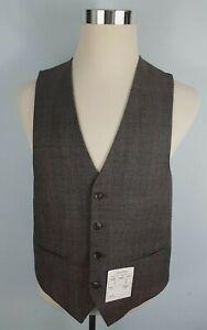 Calvin Klein Wool Formal Suit Vest Separate MTCH3 - Grey - Size 40 / 34W