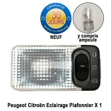 Peugeot Eclairage Plafonnier 206 206+ Neuf 6362K9 y compris ampoule