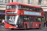 LT787 LTZ 1787 ABELLIO NEW ROUTEMASTER 30TH DEC 2017 6x4 London Bus Photo B