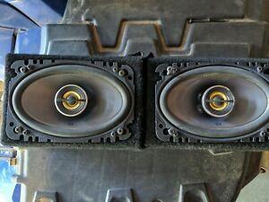"Working JBL GX642 4"" x 6"" 2 Way GX Series Coaxial Car Loud Speaker w/boxes USA"