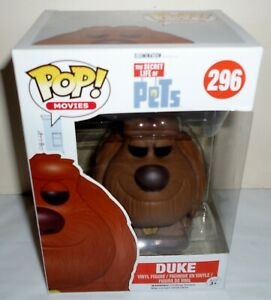 Funko Pop The Secret Life of Pets Duke figure 296