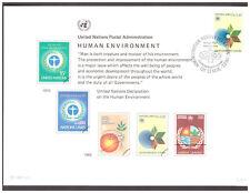 UNO Genf Sammlung Erinnerungskarten 39 Stück gestempelt