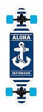 Longboard Aloha Drop Through ANCHOR Neu  Skatebaord