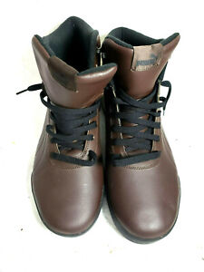 PUMA Men's Boot 13M Brown  Athletic  Boots synthetic cushioned interior NWOB