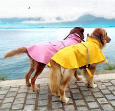 Calapet Hunde Regenmantel, Regenjacke mit Reflexstreifen, Gr. XS-XXL,Wasserdicht