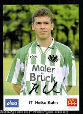 Heiko Kuhn Preußen Münster AK 90er Jahre Original Signiert +A52064