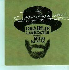 (CX854)  Charlie Lankester, The Spinning Of The Wheel - 2012 DJ CD
