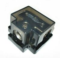 XSCORPION DISTRIBUTION BLOCK 0 2 4 8 GAUGE W/ ADAPTERS (1) 0/2 IN w/ (3) 4/8 OUT