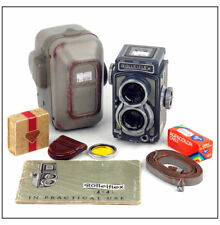 Ltd Rollei/Rolleiflex Baby Green 4X4 w/Xenor 60mm/3.5 w/case, 127 film, filter