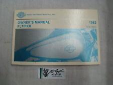 Harley FXR FLT owner's manual 1982 Collectible Shovelhead Touring FXRT EP12595