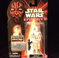Star Wars Episode 1 OOM-9 Blaster Binoculars Droid Comm Action Figure NIP Hasbro