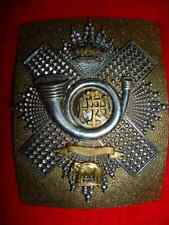 Highland Light Infantry Territorial Officer's Victorian QVC Shoulder Belt Plate