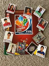 2015 Panini Women's World Cup Soccer Sticker Canada Choose 10 to complete set