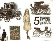 Antique Vehicles & Bicycle Stickers