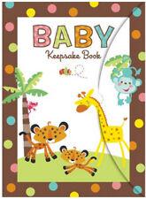 Fisher Price Animals of Rainforest BABY SHOWER KEEPSAKE BOOK party supplies