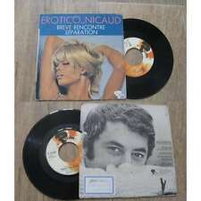 PHILIPPE NICAUD - Erotico Nicaud Rare French PS 7' Soul Funk Bossa Nova 1970
