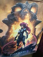 R2B11 * BANNER / PENNANT from DARKSIDERS III 3 Collectors Edition game