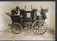Road Transport Postcard - Private Drag c.1890, Arlington Court Carriage RR1419
