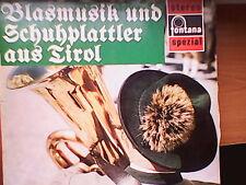 Blasmusik und Schuhplattler aus Tirol (7 01 530 WPY) /LP/