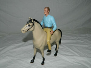 1959 Fourstar Rifleman Chuck Conner Cowboy and Horse Toy Doll Figure Sussex