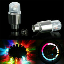4Pcs Tire Air Valve Stem Cap Lamp 0.2W LED Motorcycle Car Wheel Light Decor Bulb