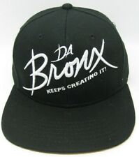 "Da Bronx KEEPS CREATING IT! ""4U"" Black My Fresh Snapback Hat Cap"